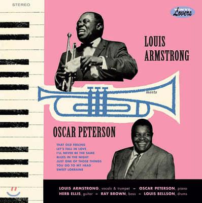 Louis Armstrong & Oscar Peterson (루이 암스트롱 & 오스카 피터슨) - Louis Armstrong Meets Oscar Peterson [LP]