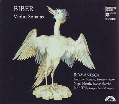 Biber - Violin Sonatas Romanesca, Andrew Manze, Nigel North, John Toll