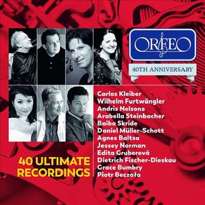 오르페오 40주년 에디션 (ORFEO 40th Anniversary Edition - 40 Ultimate Recordings) (2CD) - 여러 아티스트