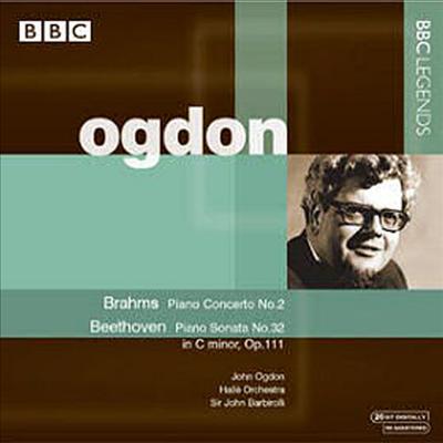 브람스 : 피아노 협주곡 2번, 베토벤 : 피아노 소나타 32번 (Brahms : Piano Concerto No.2 Op.83, Beethoven : Piano Sonata No.32 Op.111) - John Ogdon