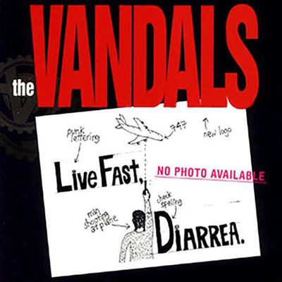 Vandals - Live Fast, Diarrhea (25th Anniversary)(Ltd. Ed)(Colored LP)