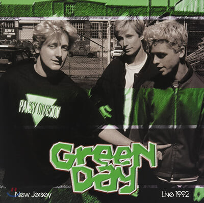 Green Day (그린 데이) - Live In New Jersey May 28, 1992 [LP]