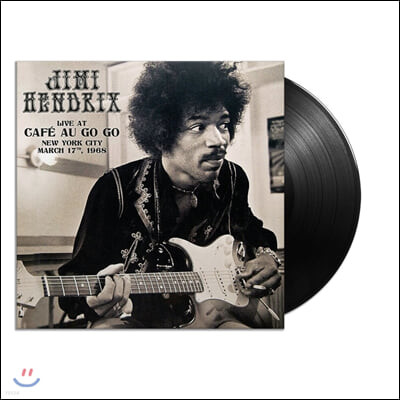 Jimi Hendrix (지미 헨드릭스) - Live at Cafe' Au Go Go, New York City - March 17, 1968 [2LP]
