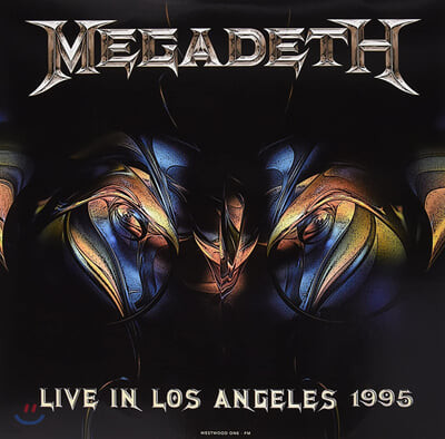Megadeth (메가데스) - Live at Great Olympic Auditorium [LP]
