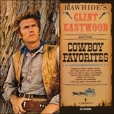 Clint Eastwood (클린트 이스트우드) -  Sings Cowboy Favorites [레드 컬러 LP]