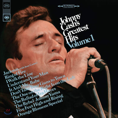 Johnny cash (조니 캐시) - Greatest Hits Vol.1 [LP]
