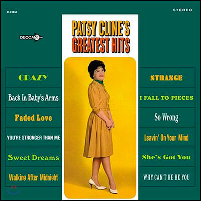 Patsy Cline (팻시 클라인) - Greatest Hits [2LP]