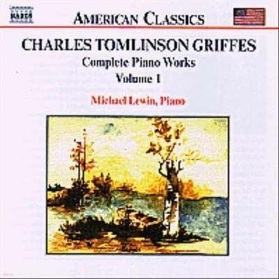 [미개봉] Michael Lewin / American Classics - 그리프스 : 피아노 작품 1집(수입/8559023)