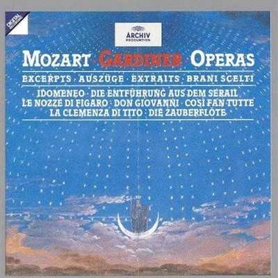 John Eliot Gardiner / Mozart : Operas - Excerpts (DG4132)