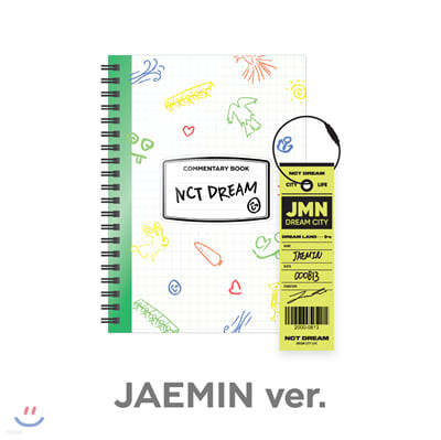 [JAEMIN] 엔시티 드림 (NCT DREAM) - NCT LIFE : DREAM in Wonderland 코멘터리북 + 러기지택 SET