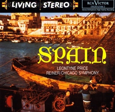Spain - Chicago Symphony Orchestra Leontyne Price 수입반