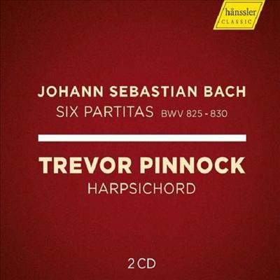 바흐: 하프시코드를 위한 파르티타 (Bach: Partitas for Harpsichord Nos.1 - 6) (2CD) - Trevor Pinnock