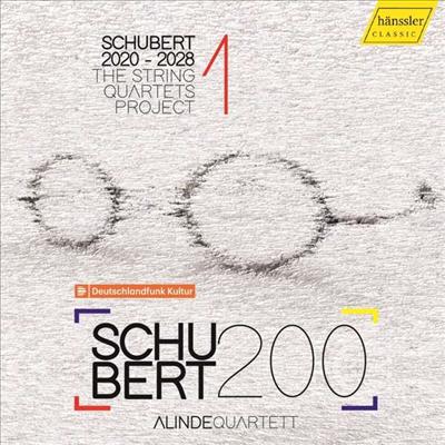 슈베르트: 현악 사중주 1집 (Schubert: The String Quartets Project 1) - Alinde Quartett