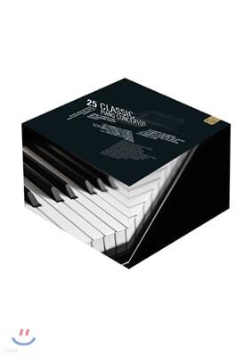 14인의 피아니스트가 연주하는 협주곡 25곡 라이브 영상 (25 Classic Piano Concertos 1986-2014)