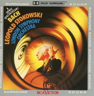 Bach - Leopold Stokowski - The London Symphony Orchestra 수입