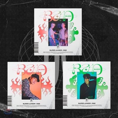 슈퍼주니어-D&E - 미니앨범 4집 : Bad Blood [3종 중 랜덤발송]