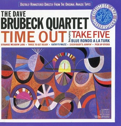 THE DAVE - COLUMBLA BRUBECK QUARTET TIME OUT