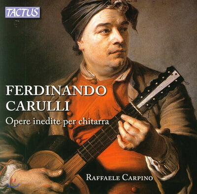 Raffaele Carpino 줄리아니: 기타를 위한 변주곡 (Mauro Giuliani: Opere Per Chitarra)