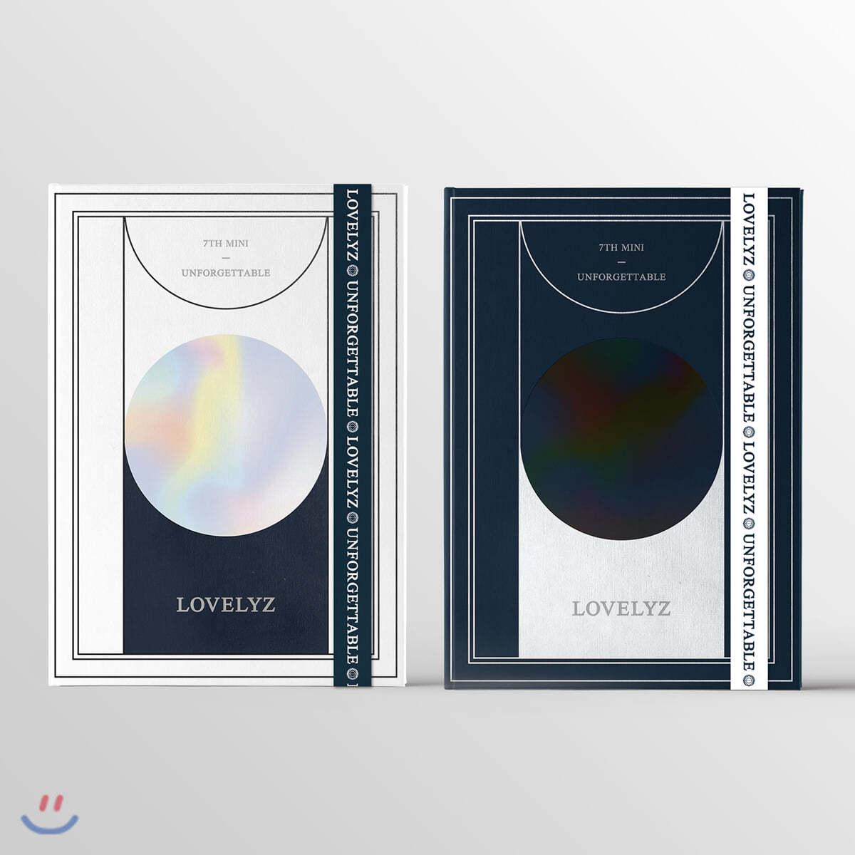러블리즈 (Lovelyz) - 미니앨범 7집 : Unforgettable [A ver.]
