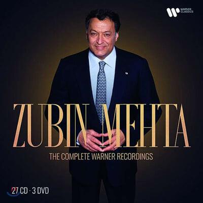 Zubin Mehta 주빈 메타 워너 녹음 전집 (The Complete Warner Recordings)