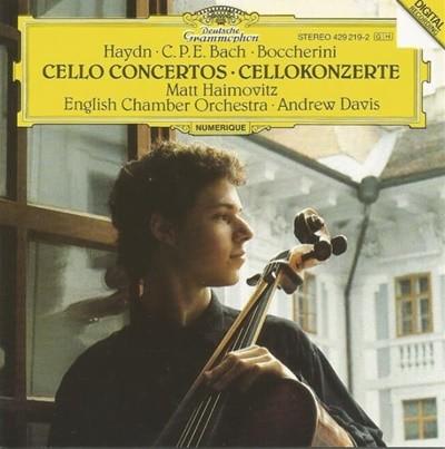 Joseph Haydn - Cello Concertos Cellokonzerte / English Chamber Orchestra