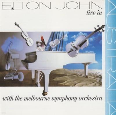 Elton John - Live In Australia: With the Melbourne Symphony 수입