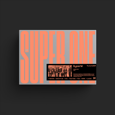 슈퍼엠 (SuperM) - SuperM The 1st Album Super One (Super Ver.)(CD)