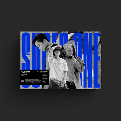 슈퍼엠 (SuperM) - SuperM The 1st Album Super One (Unit B Ver. - Lucas & Baekhyun & Mark)(CD)