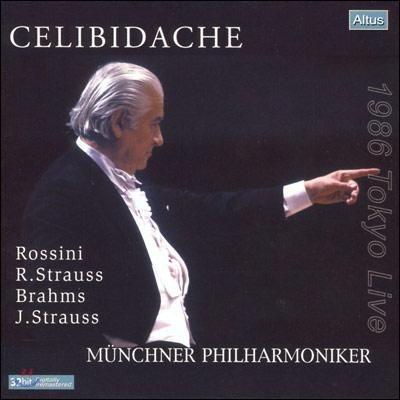 Sergiu Celibidache 브람스: 교향곡 4번/ R.슈트라우스: 죽음과 변용 - 세르주 첼리비다케 (Brahms: Symphony No.4)