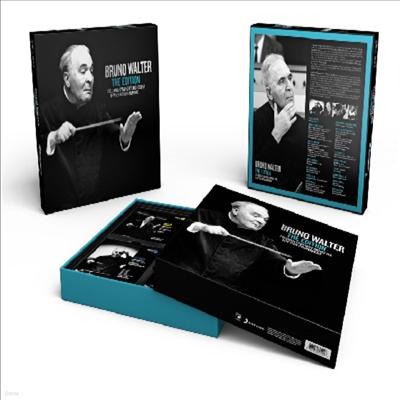 브루노 발터의 말년 녹음 에디션 (Bruno Walter -The Editoin) (LP Box사이즈)(39CD Boxset) - Bruno Walter