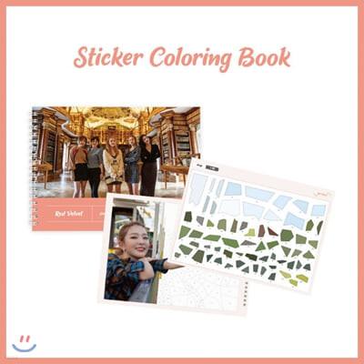 레드벨벳 (Red Velvet) - 레드벨벳 스티커 컬러링북