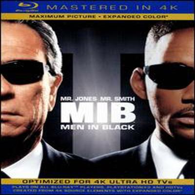 Men in Black (맨 인 블랙) (Mastered in 4K) (한글무자막)(Single-Disc Blu-ray + Ultra Violet Digital Copy) (1997)