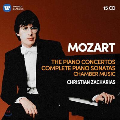 Christian Zacharias 모차르트: 피아노 협주곡과 소나타 - 크리스티안 차하리아스 (Mozart: Piano Concertos, Sonatas, Chamber Music)