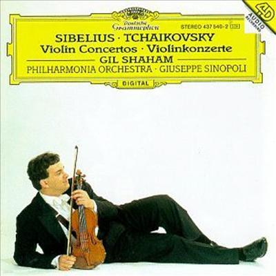 시벨리우스, 차이코프스키 : 바이올린 협주곡 (Sibelius, Tchaikovsky : Violin Concertos)(CD) - Gil Shaham