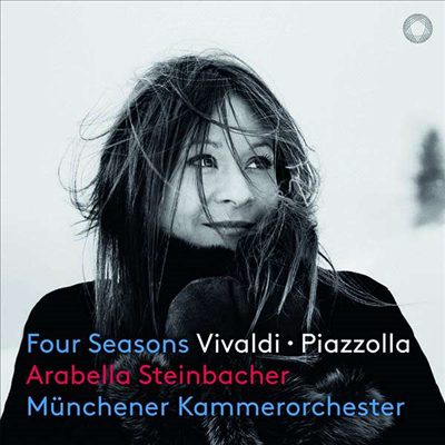 비발디 & 피아졸라: 사계 (Vivaldi & Piazzolla: The Four Seasons) (SACD Hybrid)(Digipack) - Arabella Steinbacher