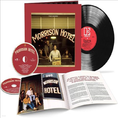 Doors - Morrison Hotel (50th Anniversary Edition)(Deluxe Edition)(2CD+180g LP)