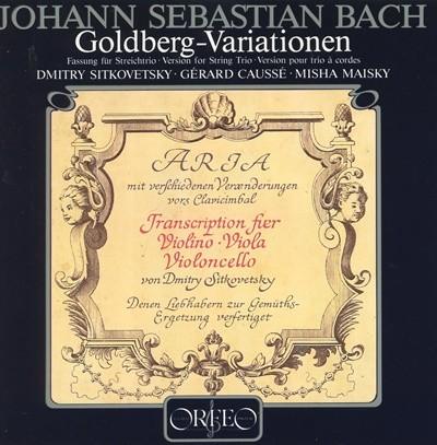 JOHANN SEBASTIAN BACH GOLDBERG- VARIATIONEN