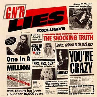 [중고CD] Guns N' Roses / GN'R Lies