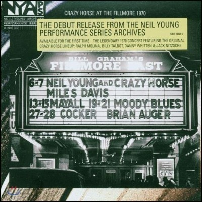 Neil Young - Live At The Fillmore East