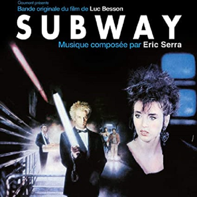 Eric Serra - Subway (지하철) (Soundtrack)(CD)