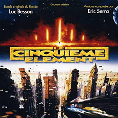 Eric Serra - Le Cinquieme Element (제5원소) (Soundtrack)(CD)