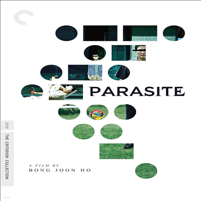 Parasite (2019) (Criterion Collection) (기생충) (2020 미국 아카데미 수상작)(봉준호 감독 작품)(지역코드1)(한글무자막)(DVD)