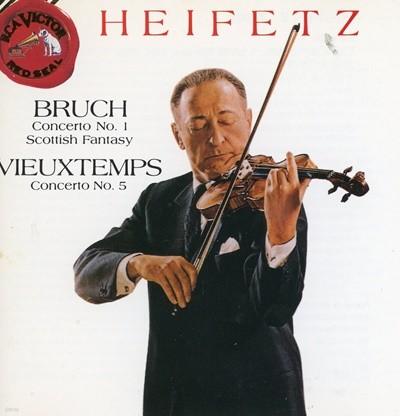 Heifetz - Bruch / Vieuxtemps / Concerto No. 1, Scottish Fantasy / Concerto No. 5