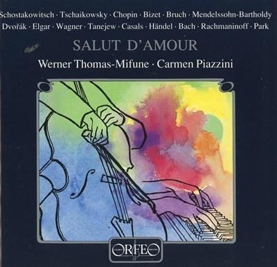 SALUT D'AMOUR Werner Thomas-Mifune Carmen Piazzini 수입