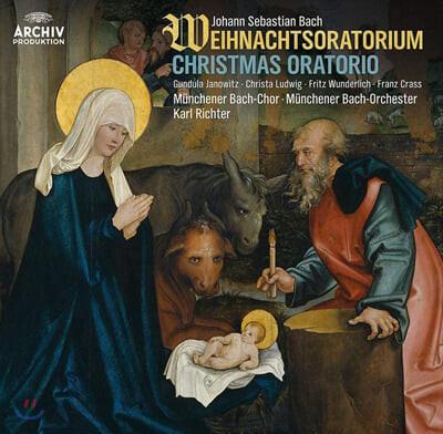 Karl Richter 바흐: 크리스마스 오라토리오 (Bach: Weihnachtsoratorium) [3LP]
