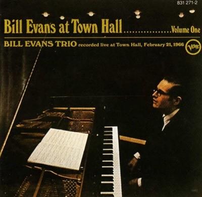 Bill Evans Trio (빌 에반스 트리오) - At Town Hall ....... Volume One 수입