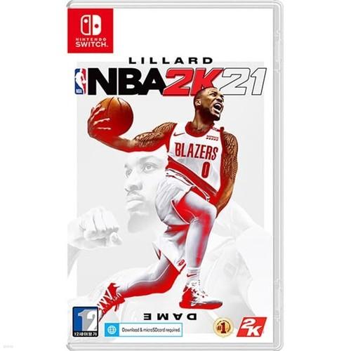 스위치 NBA 2K21 한글판 / 특전포함