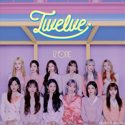 아이즈원 (IZ*ONE) - Twelve (CD+DVD) (Type B)