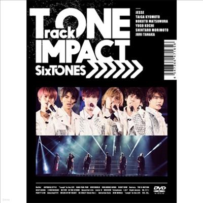 SixTONES (식스톤즈) - TrackONE -IMPACT- (지역코드2)(2DVD) (초회반)