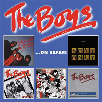 Boys - The Boys On Safari (5CD Box Set)